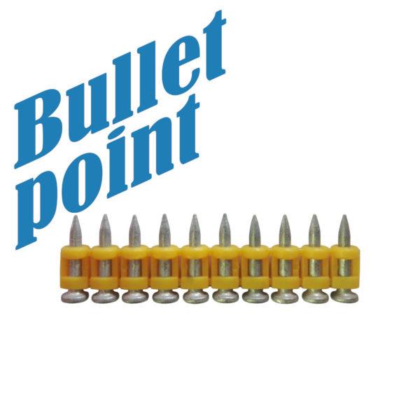 Усиленные дюбель-гвозди тип CN Bullet-Point 25/1000 шт.