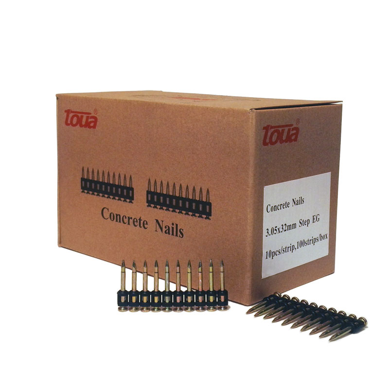 Усиленные дюбель-гвозди по бетону, металлу, кирпичу тип CN 32 упаковка 1000 шт.