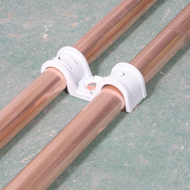 Скобы для труб фиксирующие двусторонние SPIT P-Clip 16-16 мм