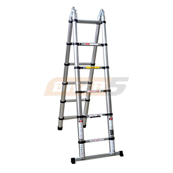 Лестница-стремянка телескопическая  Shtok 1.9-3.75м